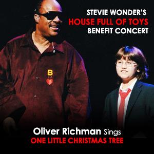 Stevie Wonder and Oliver Richman